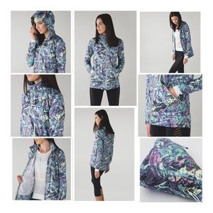 LLL Miss Misty II Jacket Iridescent Multi Print 6